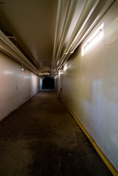 White Tunnel; Ypsilanti State Hospital