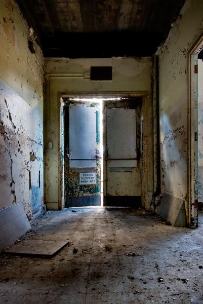 Photo of the abandoned Constance Sanatorium an undisclosed place in United States of America