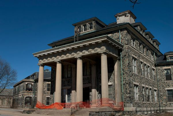 Photo of the abandoned Foster State Hospital an undisclosed place in United States of America
