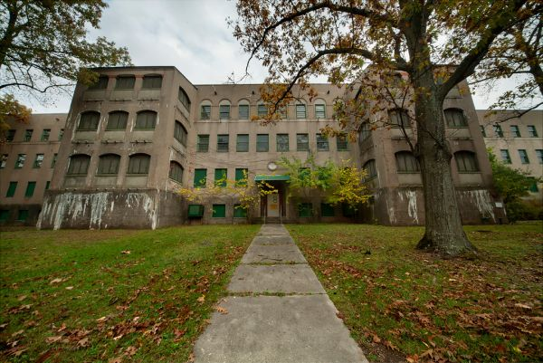 Photo of the abandoned Malone Psychiatric Center an undisclosed place in United States of America