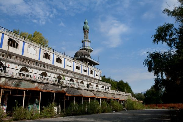 Photo of the abandoned Consonno in Olginate, Lecco Italy