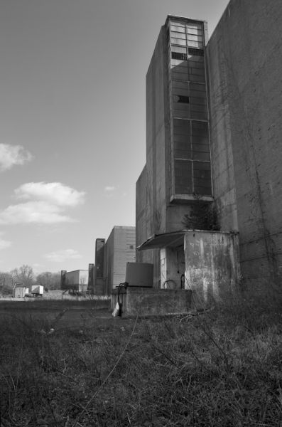Photo of the abandoned Linfield Industrial Park in Linfield, PA