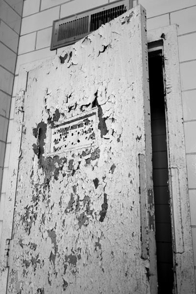 Seclusion Room Door; Fuller State School and Hospital