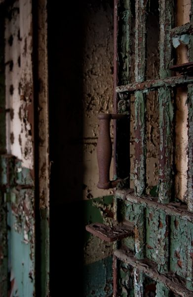 Rusted Handle; York County Prison