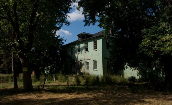 Photo of the abandoned Vineland Training School's Menantico Colony in Vineland, NJ