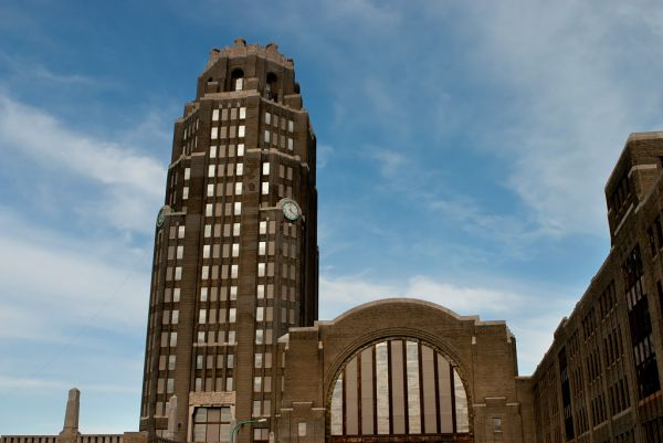 Photo of the abandoned Buffalo Central Terminal in Buffalo, NY