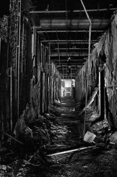 Hallway Photo Of The Abandoned Philadelphia State