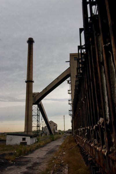 Photo of the abandoned Acme Coke Plant in Chicago, IL