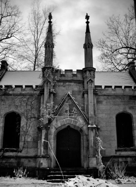 Photo of the abandoned Mount Rose Cemetery an undisclosed place in United States of America