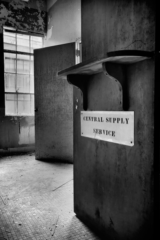Central Supply Service; Cedarcrest Sanatorium