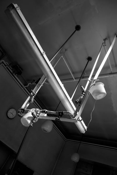 Overhead; West Middlesex Hospital
