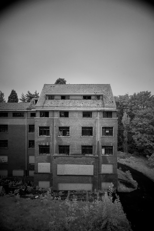 Photo of the abandoned Clinique de la Faisanderie in Brussels, Brussels Capital-Region Belgium