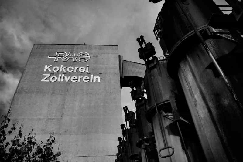 Photo of the abandoned Kokerei Zollverein in Essen, Nordrhein-Westfalen Germany