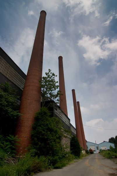 Photo of the abandoned Armorcast (Birdsboro Steel Foundry and Machine Co) in Birdsboro, PA