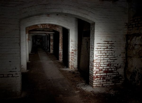 Arches of White; Danvers State Hospital