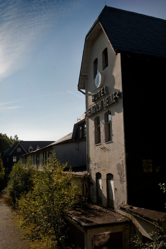 Photo of the abandoned Hotel Heinrich Heine in Schierke, Sachsen-Anhalt Germany
