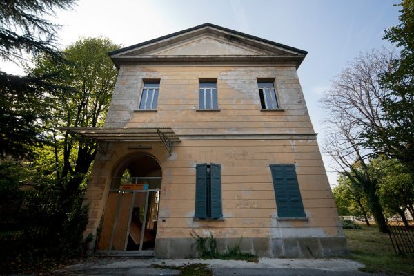 Photo of the abandoned Manicomio Frigerio an undisclosed place in Italy