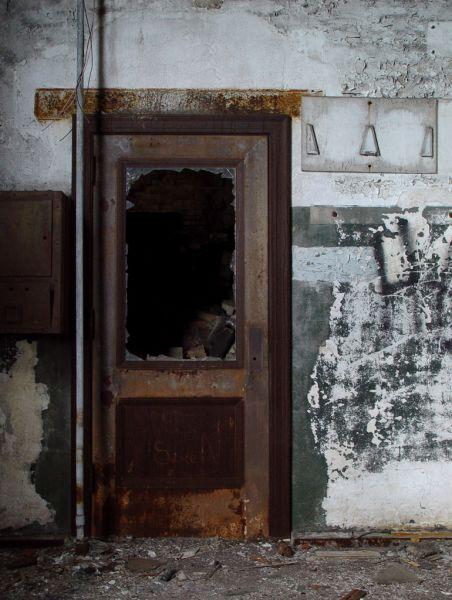 Door; Glenwood Power Plant