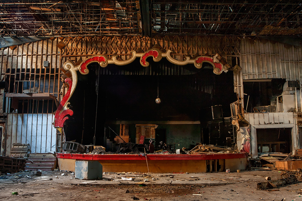 Grand Quarters Theater: An Abandoned Theater In Detroit, MI