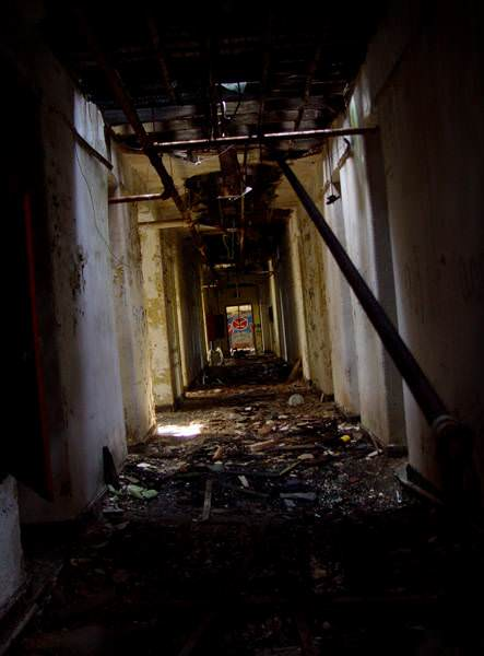 Third Floor Hall Photo Of The Abandoned Kings Park