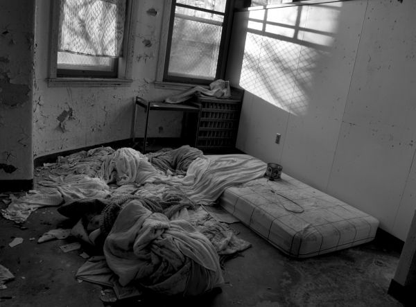 Clothes - Photo of the Abandoned Pennhurst State School