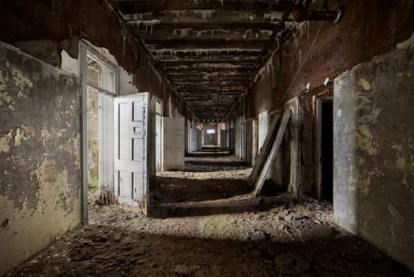 Photo of the abandoned Northwood Asylum an undisclosed place in United States of America