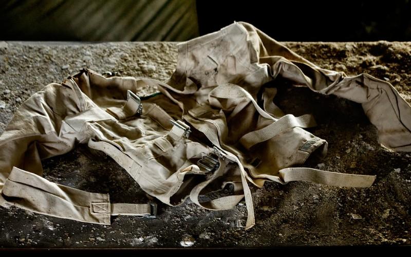 Straitjacket - Photo of the Abandoned Northwood Asylum