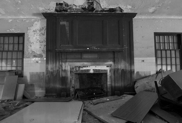Fireplace; Fuller State School and Hospital