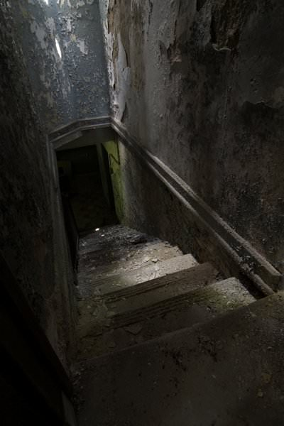 Basement Stairs Photo of the Abandoned Fuller State School and
