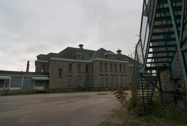Photo of the abandoned Saint Michaels State Hospital an undisclosed place in United States of America