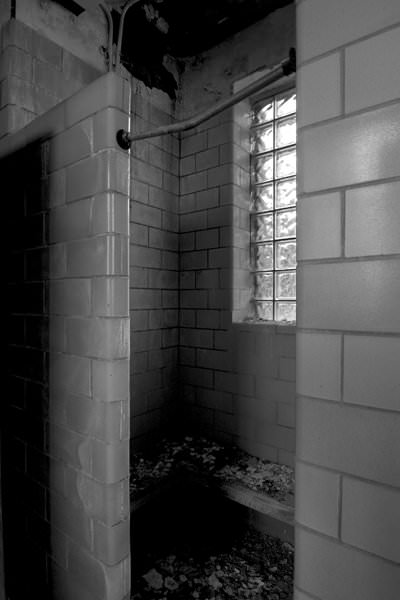 Shower Stall Photo Of The Abandoned Dixmont State Hospital