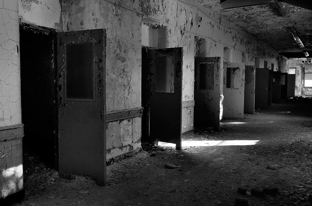 Violent Ward Photo Of The Abandoned Verden Psychiatric