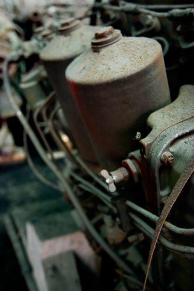 Closeup; Studebaker Stamping Plant