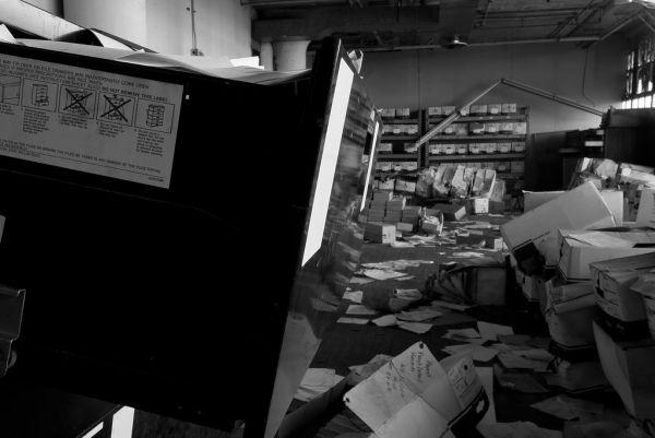 Paperwork; Studebaker Stamping Plant
