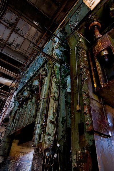Towering Machines; Studebaker Stamping Plant