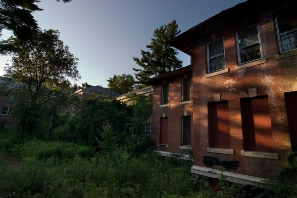 Photo of the abandoned Green Hill State Hospital an undisclosed place in United States of America