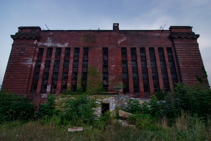 Photo of the abandoned York County Prison in York, PA