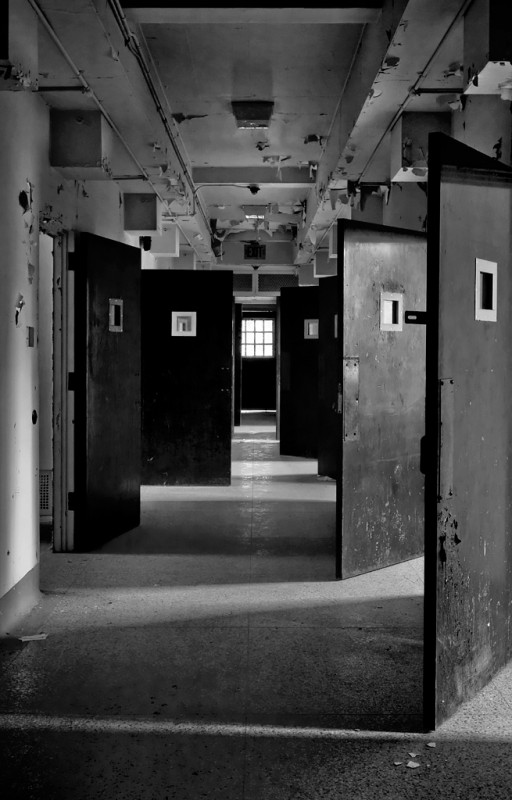 Photo of the abandoned Marlboro State Hospital in Marlboro, NJ