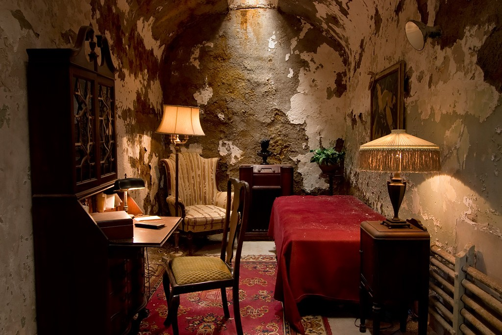 Capone S Cell Photo Of The Abandoned Eastern State