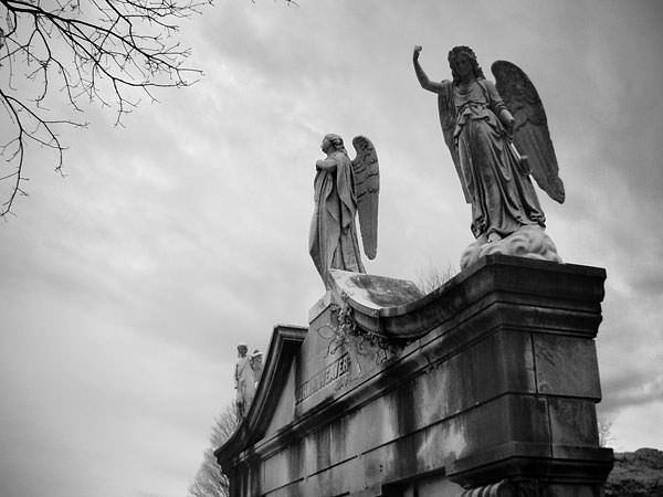 Greenmount Cemtery Baltimore angels
