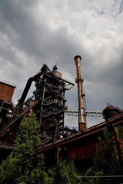 Landschaftspark Duisburg-Nord steel